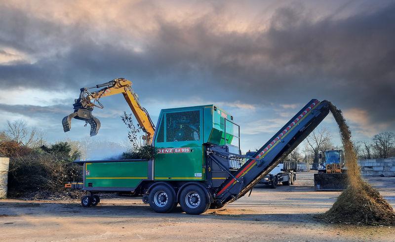 Capaciteitsmachine voor de groensector