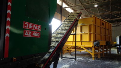 Stationaire JENZ AZ 460 E in werking gesteld bij Makutech in Nederland