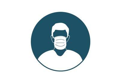 Bouche masque obligatoire lors de l'entrée de nos bâtiments de l'entreprise!