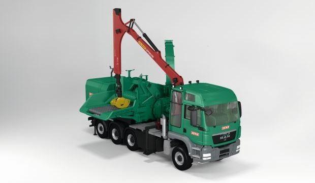 Jenz HEM 841 DQ-Truck hybrid