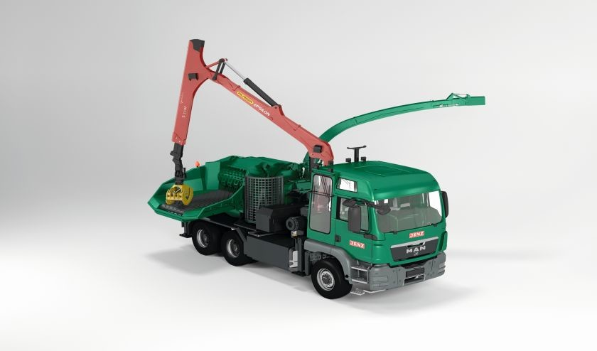 Jenz HEM 583 R-Truck